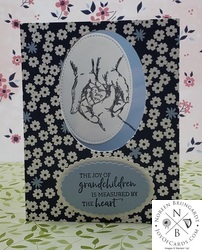 Laminated treasures of life stampin up  1