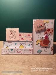 Snail step card