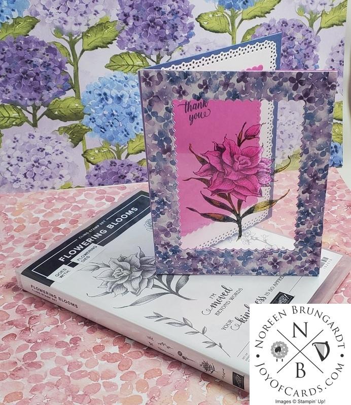 Laminated flowering blooms  1