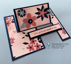 Pierced blooms impossible card  1