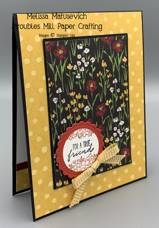 Flower   field with dragonfly garden and little treat box