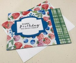 Berry delightful birthday card