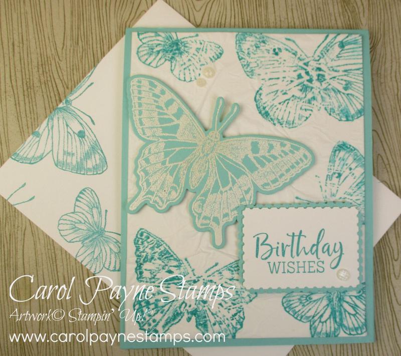 Stampin up butterfly bouquet carolpaynestamps2