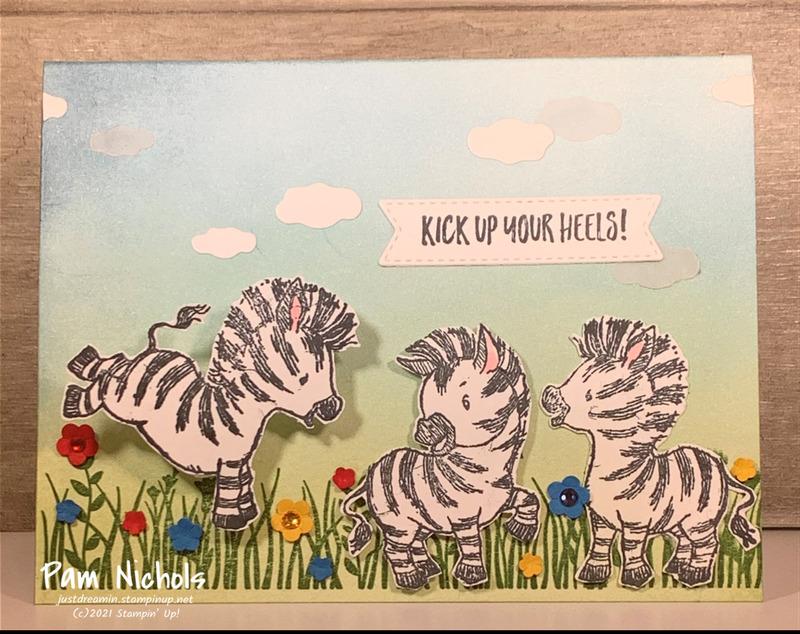 Zany zebras
