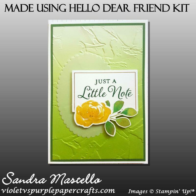 Made using hello dear friend kit 06