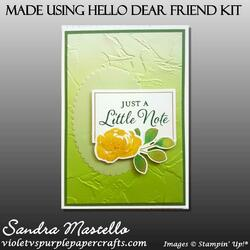 Made using hello dear friend kit 06