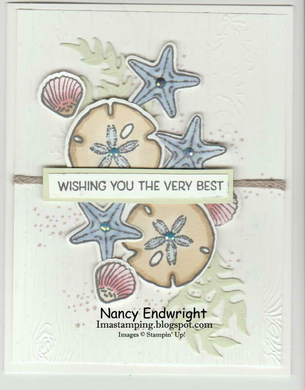 Friends are like seashells   wishing you the very best