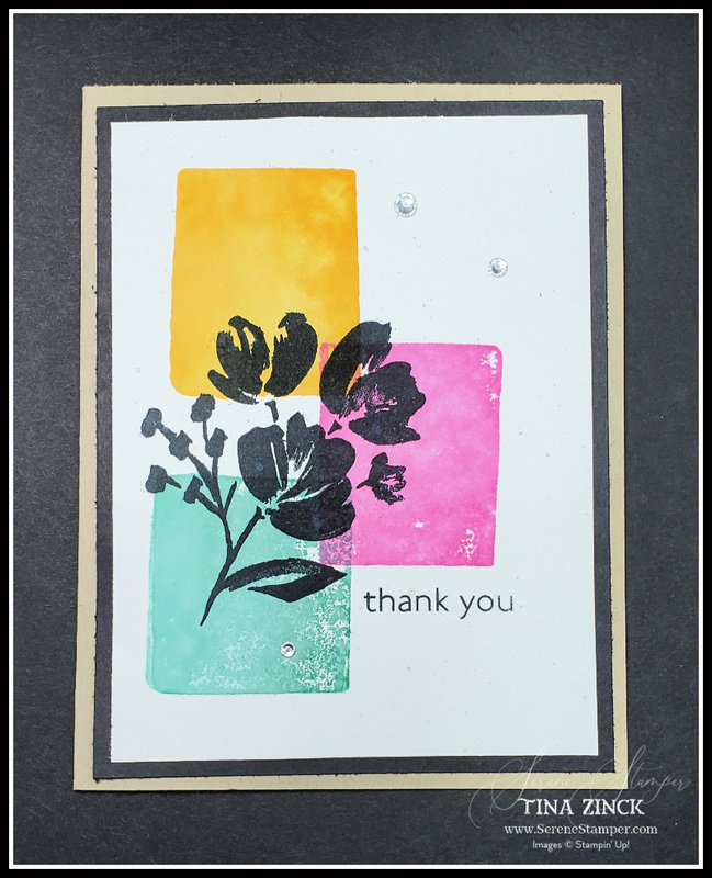 Art gallery stampin up tina zinck