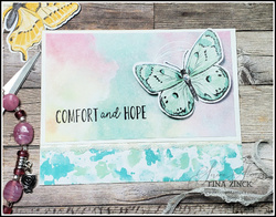 Butterfly brilliance collection stampin up tina zinck