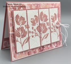 Fine art with hydrangea hill paper