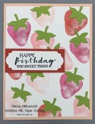 Sweet strawberry