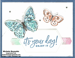 Happiest of birthdays your day butterflies blue version watermark