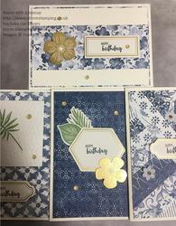 Boho suite 4 cards