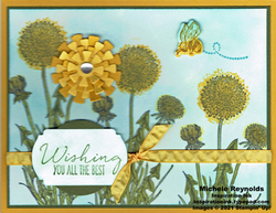 Garden wishes dandelion row watermark