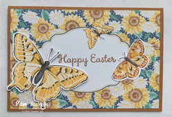 Butterfly easter