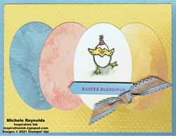 Hey birthday chick easter chick eggs watermark
