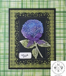Hydrangea haven thank you card  3
