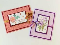 Inspiring iris cards