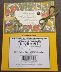 Calendar card wm