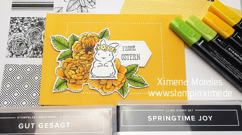 Schnelle osterkarte springtime joy
