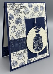 Paper players 534 boho indigo