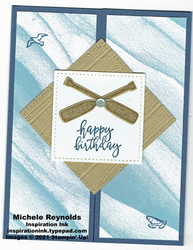 By the dock birthday oars fun fold watermark