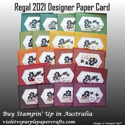 Regal 2021 designer paper card 00