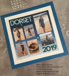 Dorset scrapbook page