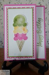 Sweet ice cream 1