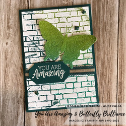 Jessie holton stampin up you are amazing   butterfly brilliance 2