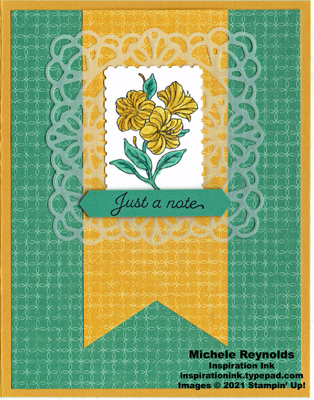 Posted for you doily lilies watermark