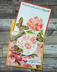 Floating and fluttering stampin up tina zinck fun fold min