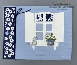 Welcoming window grace s garden paper blooms