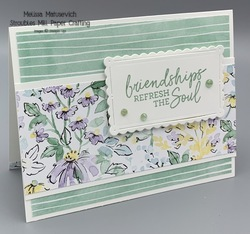Beauty of friendship witgh handpainted dsp