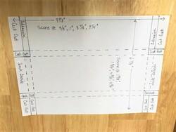 Envelope for concertina card