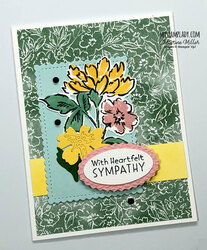 Sympathy hand penned