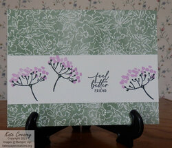 Hand penned  simplestamping 2