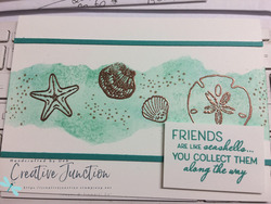 Friends are like seashells 1