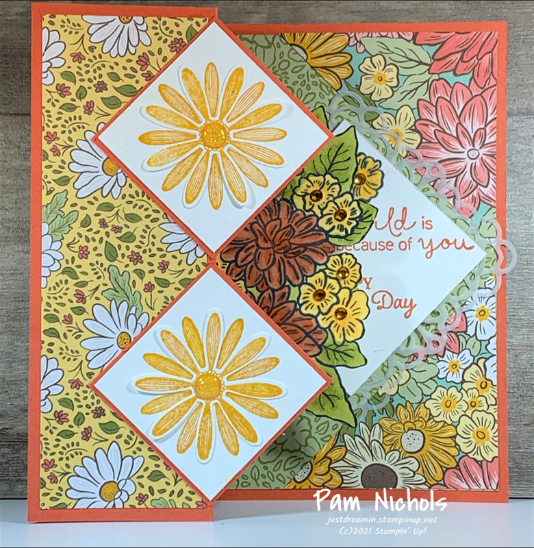 Ornate garden card 2021