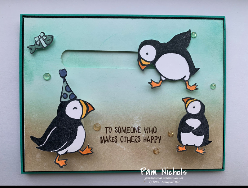 Party puffins