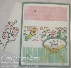 Stampin up hand penned petals carolpaynestamps1