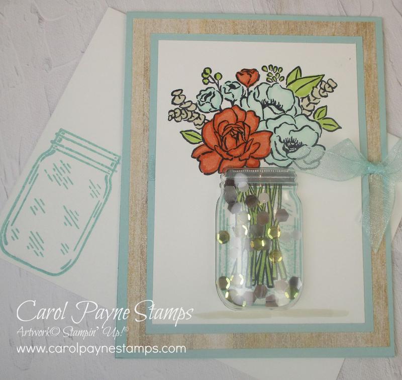 Stampin up jar of flowers carolpaynestamps3