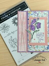 Color and contour purple email