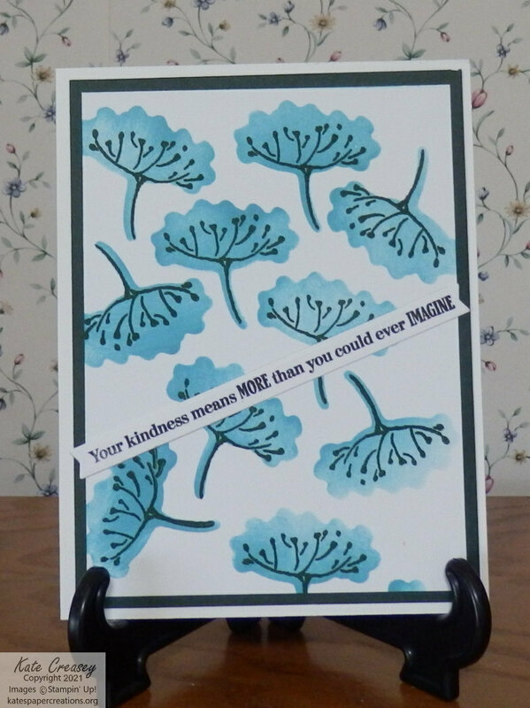 Hand penned stenciled  simplestamping