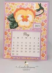 Pansy calendar