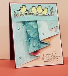 Free as a bird drapery fold 5 13 21