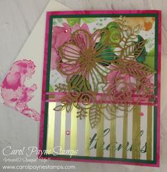 Stampin up artistically inked magenta madness carolpaynestamps1  2