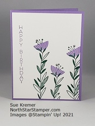 Stampin up celebrate with flowers north star stamper