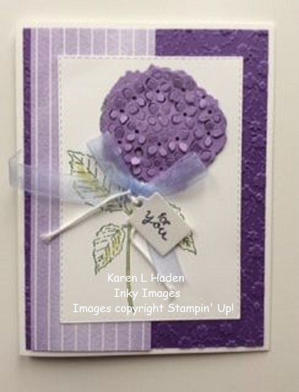For you hydrangea card