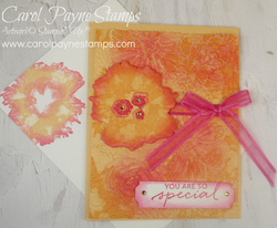Stampin up artistically inked sponged edges carolpaynestamps1